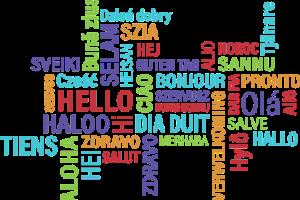 Bonjour en plusieurs langues