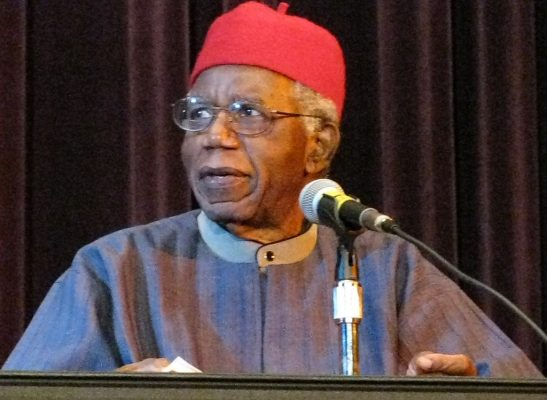 Chinua Achebe, Buffalo, Septembre 2008 CC: Stuart C. Shapiro via Wikipedia
