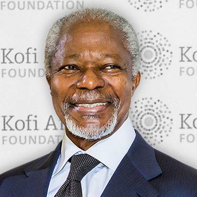 Kofi Annan en 2014 CC: Fondation Kofi Annan